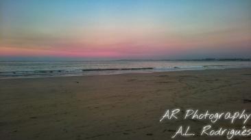 Quiet Walk on the Beach