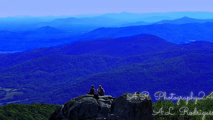 Summit on Sharp's Mountain